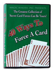40 Ways to Force A Card(DVD)